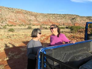 Carey and Anne in New Mexico.