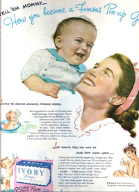 Connie Joannes Ivory Soap Ad
