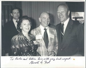 With Gerald Ford