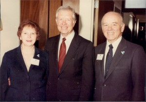 with Jimmy Carter (1)