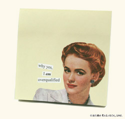 Internet Down Anne Taintor Sticky Notes