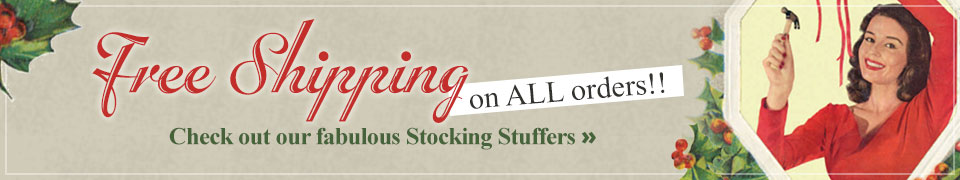 Free Shipping on ALL orders
